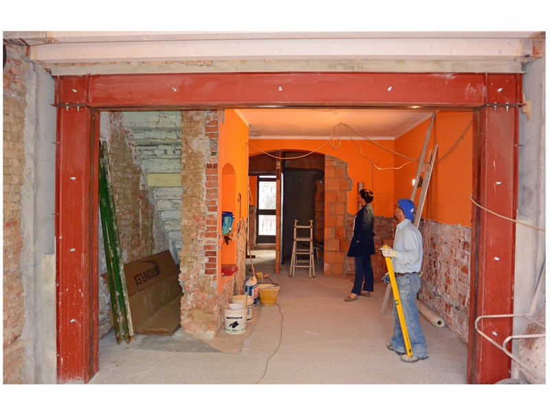 Studiorinnova cerchiatura pareti portanti - Casa in muratura portante ...
